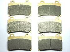 Front Rear Brake Pads For Yamaha XVZ 1300 Royal Star Tour Deluxe 1997 1998 3 SET