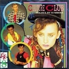 """CULTURE CLUB """"COLOUR BY NUMBERS"""" - CD NEW"""