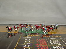 CUSTOM 12 PIECE VINTAGE WHITMAN KENTUCKY DERBY or APBA SADDLE HORSE RACING GAME