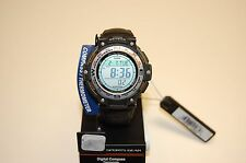 CASIO TWIN SENSOR COMPASS THERM 200M 5 ALARM WORLD TIME SGW100B-3VWT