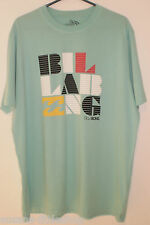 Billabong Mens Light Green T-Shirt Top, Size XXL