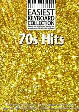 70s HITS Easiest Keyboard Collection Sheet Music Book 1970s Pop Chart Rock Songs