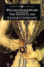 The Sonnets and A Lover's Complaint (Penguin Classics)-ExLibrary