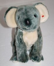 "TY Plush Beanie Buddies KOALA BEAR EUCALYPTUS 11"" Gray 1999 Stuffed Soft Toy"