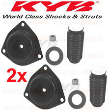 Pair KYB Front Strut Mounts + Boots for Infiniti QX4 & Nissan Pathfinder