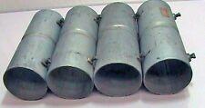 """4 ea Coupling Set Screw EMT Thin Wall RC 3"""" x 9"""" Connectors NOS"""