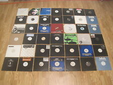 42 record lot lp dj hip hop r&b promotional promo + turntable records large mix