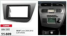CARAV 11-609 2Din Kit de instalaciуn de radio SEAT Leon 2005-2012 (Left wheel)