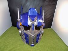 TRANSFORMERS DoTM OPTIMUS PRIME Voice Changing Helmet used work (J2G 44)