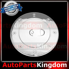 07-16 TOYOTA TUNDRA CREW MAX Triple Chrome Plated ABS Gas Door Fuel Cap Cover