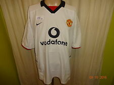 "Manchester united original nike saliente camiseta 2003/04 ""vodavone"" talla XL"