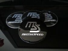 MAZDA MAZDASPEED WHEEL RIMS CENTRE CAP HUB COVER DECAL STICKER MIATA RX7 RX8 MPS
