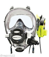 Ocean Reef Neptune Space G.divers Full GMS Radio Communication Diving Mask ML WH