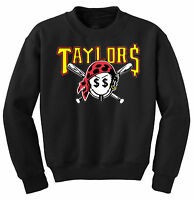 TAYLOR GANG PIRATE JUMPER OFWG WIZ KHALIFA FRESH SWAG MILLER DOPE SWEATER NEW