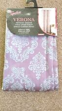 """FULLY LINED EYELET SINGLE CURTAIN PANEL 137cm (54"""" ) Wide 218cm   (86"""") Drop"""