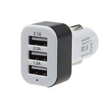 Voiture Universelle 12V 24V Pour 5V 3 ports Chargeur Adaptateur USB Pour
