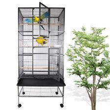 175cm Métal de volière oiseaux grand Maison d'oiseau Perruche Perroquet Cage