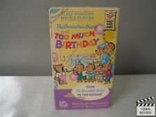 The Berenstain Bears and Too Much Birthday (VHS)