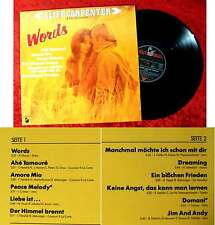 LP Cliff Carpenter: Words (Hansa 205 232-241) D 1982