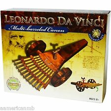 Leonardo Da Vinci Multi Barreled Canon Machine Gun Building Assemble Model Kit