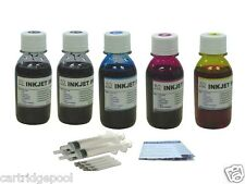 Refill ink kit for HP 61 61XL Deskjet 1050 2050 5X4oz/S