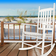 Hyannis Port All Season Outdoor Wood Rocking Chair, White