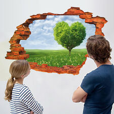 US 3D Wall Sticker Removable Love Tree Mural Decals Vinyl Art Living Room Decor