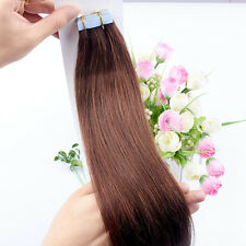 Seamless 20pcs/lot 16-26inch PU Skin Weft Tape in Remy Human Hair Extensions