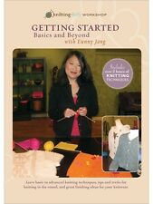NEW! Getting Started Knitting Basics and Beyond with Eunny Jang [DVD]