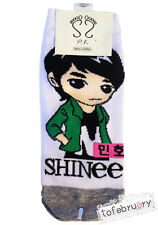 Korean Kpop Band SHINee Cute Animated Character Socks Member Minho