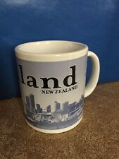 2005 Auckland New Zealand Starbucks Coffee City Mug Collectors Series