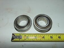 """2 Nos Vintage PPT PassePartout Twin Tracked Vehicle 1 1/4"""" x 62mm Sealed Bearing"""