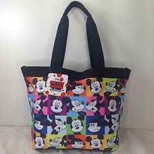 "Disney Mickey Mouse Lunch bag Shoulder bag Tote Handbag Shopper Purse 15""x9.5"""