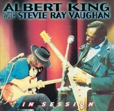 ALBERT KING WITH STEVIE RAY VAUGHAN ~ IN SESSION ~ CD 1999 STAX