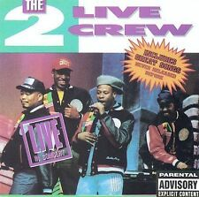 Two Live Crew: Live in Concert Live, Explicit Lyrics Audio Cassette
