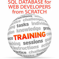 SQL Database for Web Developers from Scratch - Video Training Tutorial DVD