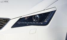 RDX Scheinwerferblenden Seat Ibiza 6J incl SC ST Böser Blick ABS Blenden Spoiler