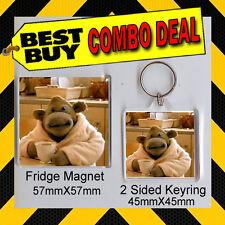 PG TIPS MONKEY  - COMBO DEAL - KEYRING AND FRIDGE MAGNET CD567