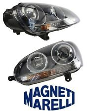 NEW VW Jetta R32 Set Of Right And Left Headlights Assembly OEM Magneti Marelli