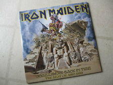 "IRON MAIDEN 2008 ""Somehwere Back/Best:'80-89"" NEW/SEALED DBL PICTURE DISC LP SET"