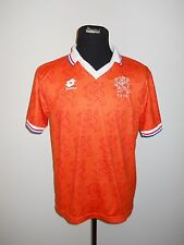Holland Soccer Jersey WORLD CUP 1994 Men's sz XL Orange Netherlands Lotto Futbol