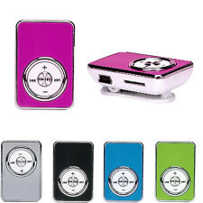 Rosa USB MP3 Player Supporto 32GB Micro SD TF Scheda Musica Media 4-5 Ore MP3