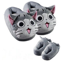 Chi's Sweet Home Cat Slippers Cute Cosplay Slippers Women Men Warm Plush ShoesA