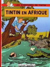 RARE HOMMAGE À HERGÉ + SHAHAB AYHAN : TINTIN EN AFRIQUE ( TARZAN )