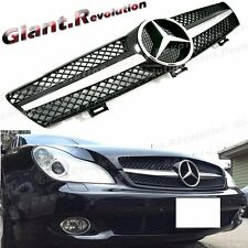 Fit W219 2004-2008 BENZ CLS Sedan 1 Fin A Type Front Vent Grille CLS350 CLS500