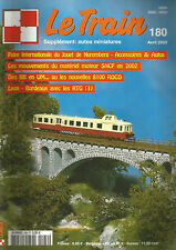 LE TRAIN N°180 MATERIEL MOTEUR SNCF EN 2002 / BB EN UM / NOUVELLE 80100 ROCO