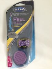DR. SCHOLL'S PAIN RELIEF ORTHOTICS FOR HEEL WOMENS SIZE USA 5-12/UK 3-10 PLANTAR