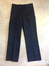 DICKIES girls dress school uniform pants BLACK - 10 Regular/24W