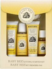 Burts Bees Baby Bee Getting Started Gift Set, 5 Products in Giftable Box