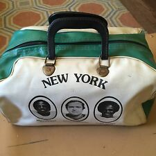 Ny Jets Vintage Duffle Gym Bag Carry On